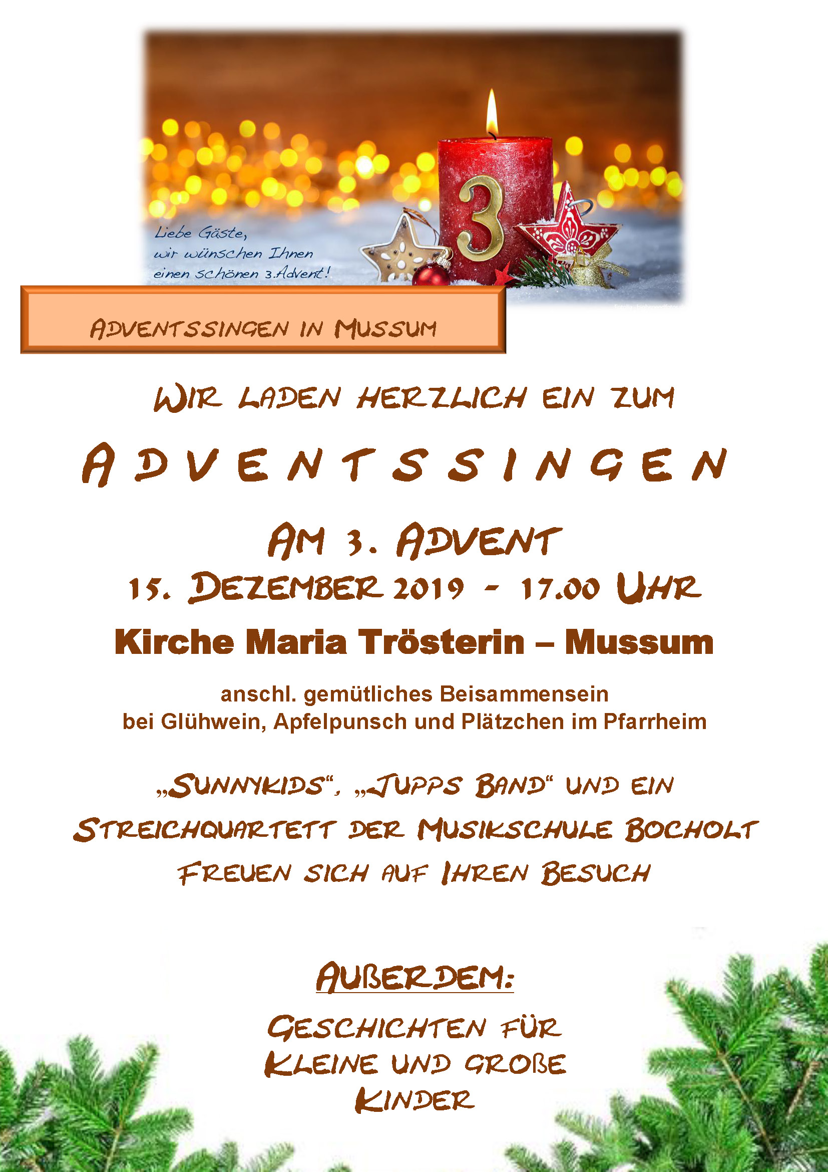 Adventssingen 2019