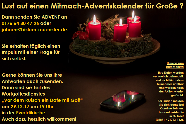 Adventskalender Website